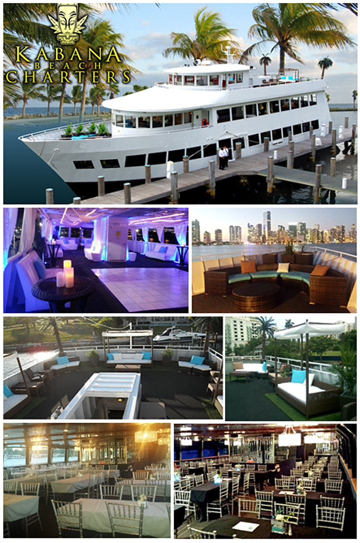 MIAMI STARS N STRIPES YACHT PARTY (Red White & Blue) image