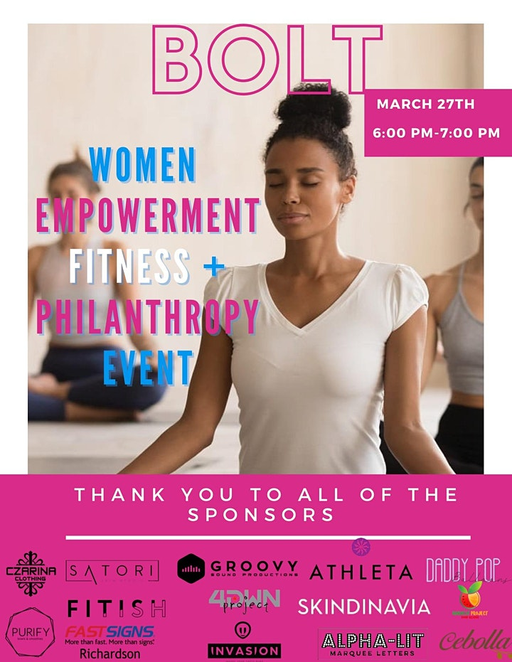 Women Empowerment Fitness and Philanthropy event image