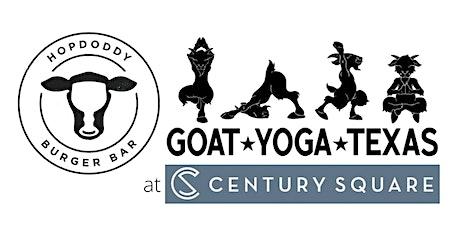 Hopdoddy's + Goat Yoga Texas - Sun, April 18 @ 10am tickets