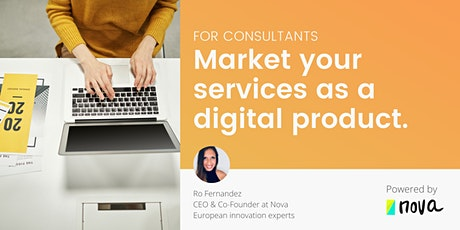 For consultants: Market your own tools, processes, and card decks. tickets