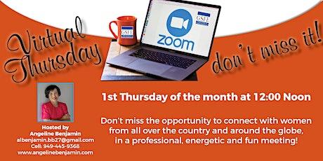 First Thursday Virtual GSFE meeting tickets