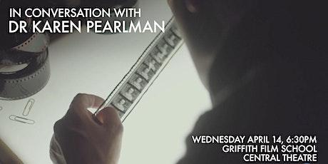 In Conversation with Dr Karen Pearlman tickets