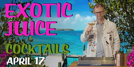 Exotic Juice Cocktails with Dr Inkwell (ingredients included!) tickets