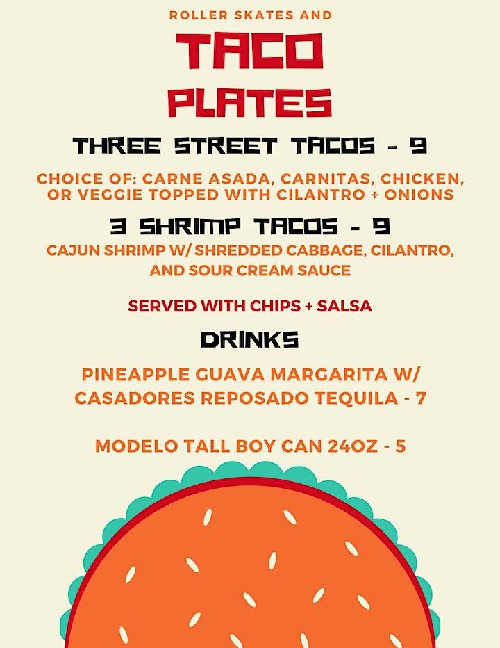Roller Skates + Taco Plates: Summer Tuesdays image