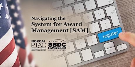 Navigating the System for Award Management (SAM) tickets