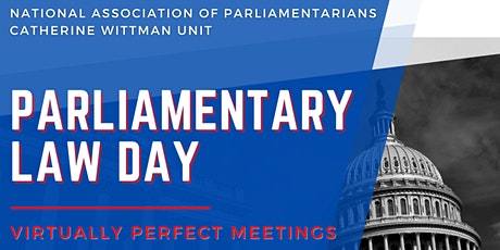 Parliamentary Law Day tickets