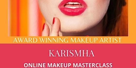 Online Adult Makeup Masterclass tickets