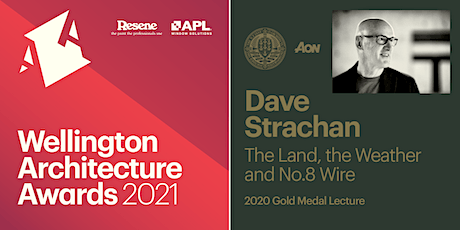 Wellington Architecture Awards & Gold Medal Lecture tickets