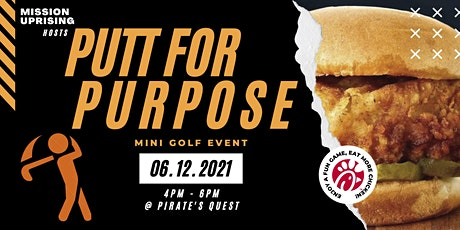 Putt for Purpose tickets