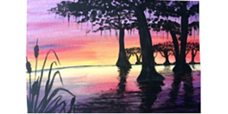 Lousiana with Oil Paints, Paint Night tickets