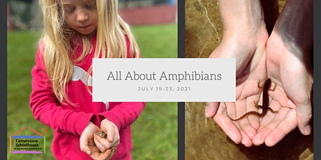 Cornerstone Nature Camp - All About Amphibians - July 19-23, 2021 tickets