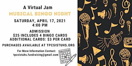 A Virtual Jam - Musical Bingo: Can You Name That Song? tickets