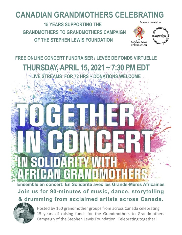 Together In Concert: In Solidarity with African Grandmothers image