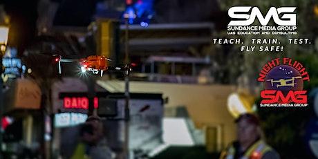 ONLINE WEBINAR _ Night UAV Flight Workshop (4 hours) June 2021 tickets