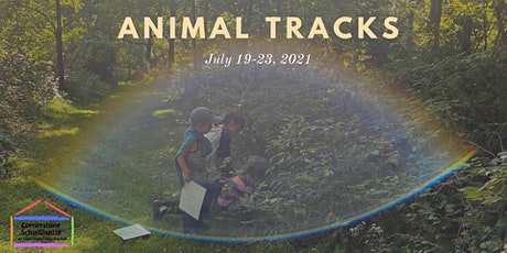 Cornerstone Nature Camp - Animal Tracks - July 26-30, 2021 tickets