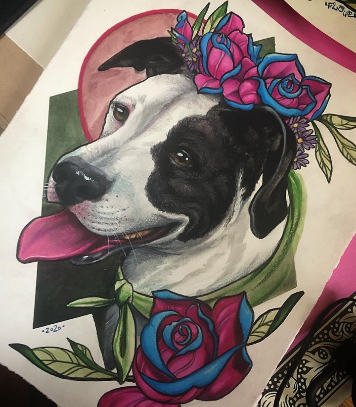 People Painting Pets image