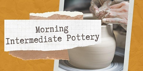 Morning Intermediate Pottery with Louise Schollaert tickets
