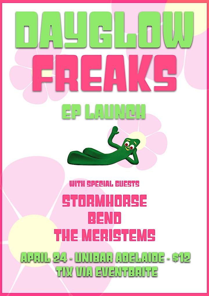 DayGlow Freaks EP Launch image