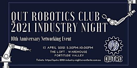 QUT Robotics Club 2021 Industry Night tickets