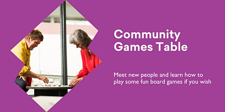Community Games Table @ Burnie Library tickets