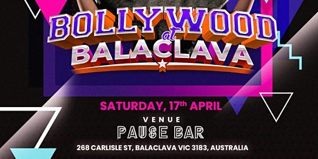 Bollywood at Balaclava tickets