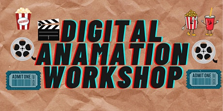 Digital Animation workshop tickets
