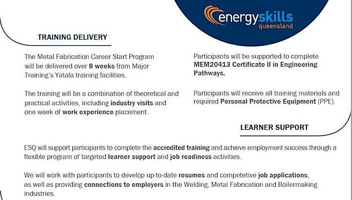Certificate II in Engineering Pathways program INFORMATION SESSION image