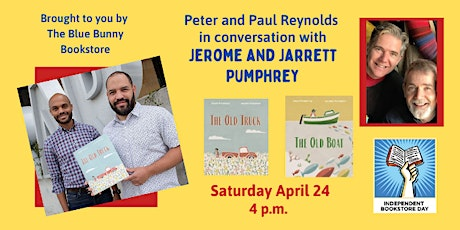 Jarrett and Jerome Pumphrey in Conversation with Peter and Paul Reynolds tickets