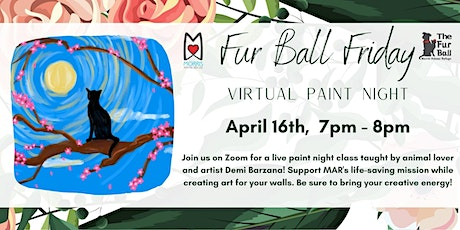 Virtual Paint Night with Demi Barzana tickets