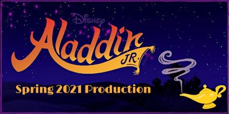 Aladdin JR. Tickets! tickets