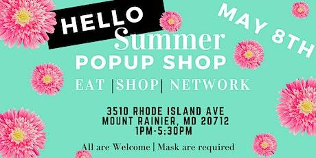 Hello Summer Pop Up Shop tickets