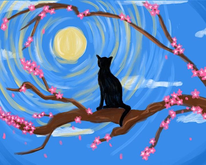 Virtual Paint Night with Demi Barzana image