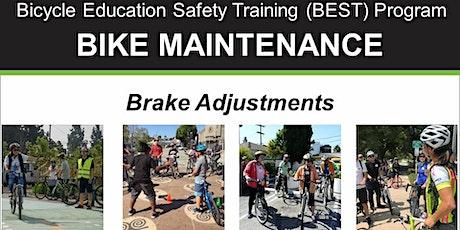 Bike Maintenance: Brake Adjustments - Online Video Class tickets