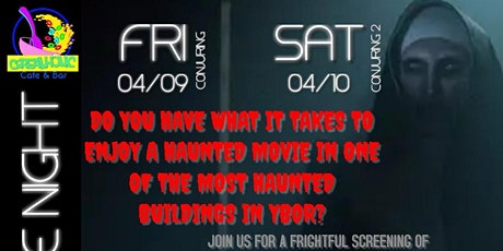 Haunted Movie Viewing in an actual Haunted Building tickets