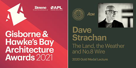 Gisborne & Hawke's Bay Architecture Awards & Gold Medal Lecture tickets