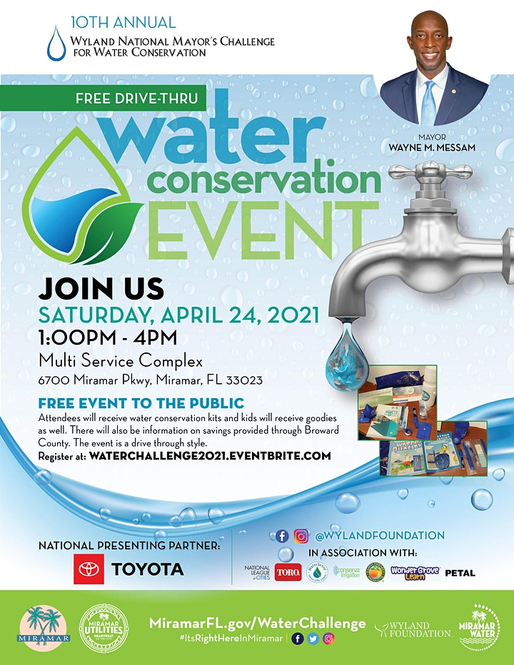 Mayor Messam Annual Wyland National Challenge Water Conservation Event image