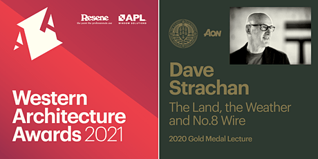 Western Architecture Awards & Gold Medal Lecture tickets