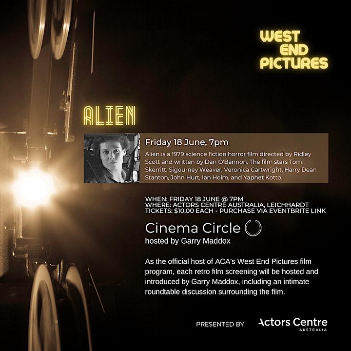 West End Films Presents a screening of Alien image