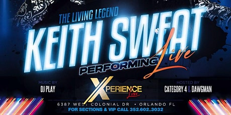 KEITH SWEAT @ DREAM CITY 06/18 tickets