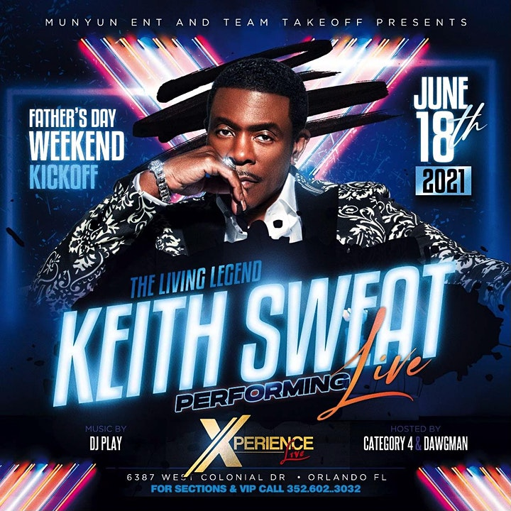 KEITH SWEAT @ DREAM CITY 06/18 image