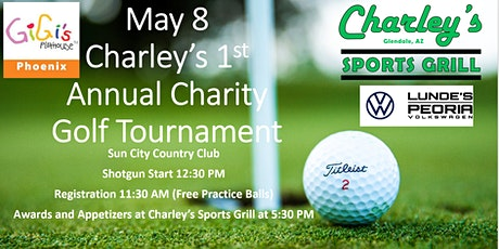 Charley's 1st Annual Golf Tournament Benefiting Gigi's Playhouse tickets