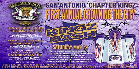 KINGZ OF THE SOUTH SAN ANTONIO FIRST ANNUAL CROWNING THE CITY tickets
