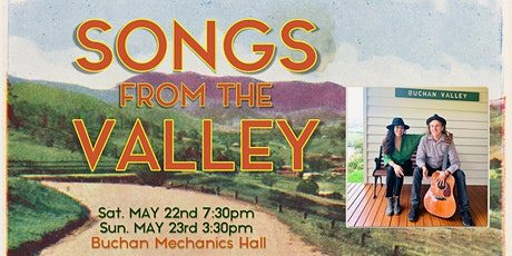 Songs From the Valley tickets
