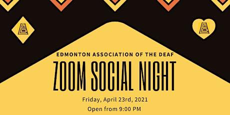 Zoom ASL Social Night tickets
