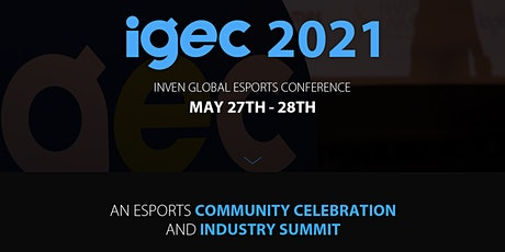 Inven Global Esports Conference (IGEC 2021) biglietti