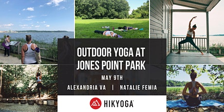 Outdoor Yoga at Jones Point Park with Hikyoga® DC tickets