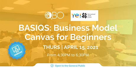 BASIQS: Business Model Canvas for Beginners tickets