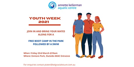 Celebrate Youth Week with a FREE Bootcamp tickets