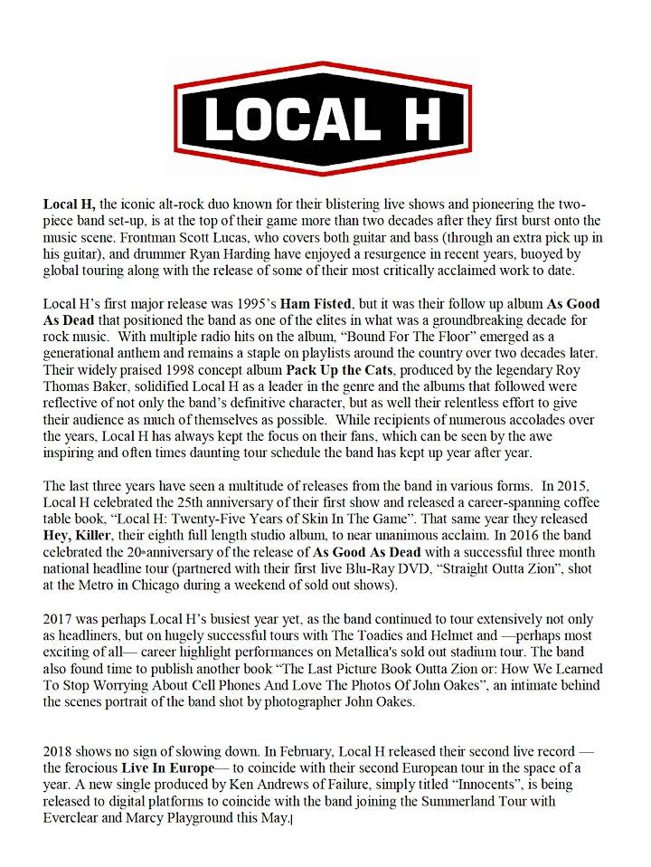 Local H image