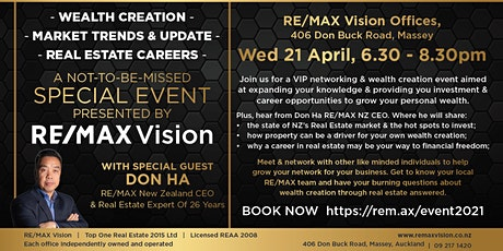 RE/MAX Vision Special Event tickets
